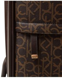 """Calvin Klein - Brown Mulberry 24"""" Softside Spinner Suitcase - Lyst"""