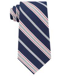 Tommy Hilfiger Blue Men's Heather Stripe Tie for men