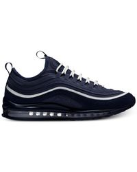 Nike Blue Air Max 97 Ultra 2017 Se Running Sneakers From Finish Line for men
