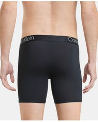 Calvin Klein Black Men's Ultra-soft Modal Boxer Briefs for men
