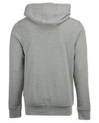 Under Armour Gray Vintage Arch Tri-blend Hoodie for men