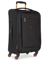 """Delsey - Black Hyperlite 2.0 20"""" Carry-on Expandable Spinner Suitcase - Lyst"""