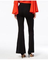 INC International Concepts - Black Split-leg Bootcut Pants, Created For Macy's - Lyst