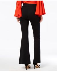 INC International Concepts - Black Split-leg Bootcut Pants, Created For Macy's - Lyst