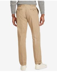 Polo Ralph Lauren - Natural Men's Stretch Chino Trousers for Men - Lyst