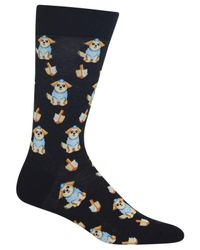 Hot Sox - Black Men's Dog Socks for Men - Lyst