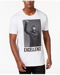 Sean John Black Graphic-print T-shirt for men
