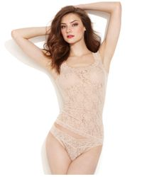 Hanky Panky Natural Signature Lace Camisole 1390l