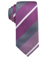 Alfani   Purple Men's Avenue Solid Slim Tie for Men   Lyst