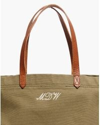 Madewell - Green The Canvas Transport Tote - Lyst