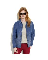 Madewell | Blue Chimala® Denim Coverall Coat | Lyst