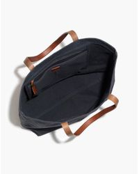 Madewell - Black The Canvas Transport Tote - Lyst