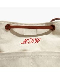 Madewell Natural The Convertible Canvas Backpack