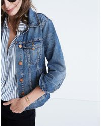 Madewell - Blue The Jean Jacket In Pinter Wash - Lyst