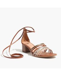 Madewell Multicolor The Rosalind Ankle-wrap Sandal