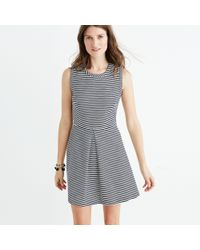 Madewell Multicolor Striped Afternoon Dress