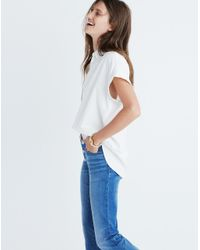 Madewell - Central Shirt In Pure White - Lyst