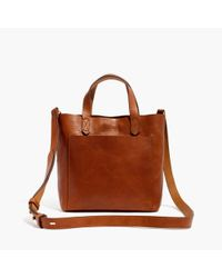 Madewell - Brown The Small Transport Crossbody - Lyst