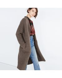 Madewell - Multicolor Fulton Sweater-coat - Lyst