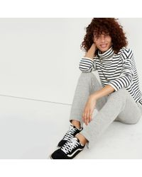Madewell - Multicolor Cozy Step-hem Sweatpants - Lyst