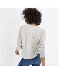 Madewell - Multicolor Cashmere Sweatshirt - Lyst