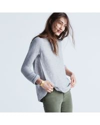 Madewell Multicolor Riverside Texture Sweater