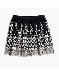 Madewell Black Ulla Johnsontm Isadora Skirt