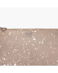 Madewell Multicolor The Small Pouch Clutch: Splatter Paint Edition