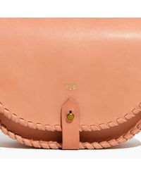 Madewell Multicolor The Whipstitch Saddlebag
