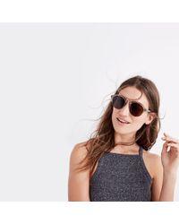 Madewell Brown Memphis Sunglasses