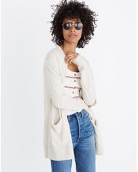 Madewell Natural Summer Ryder Cardigan Sweater