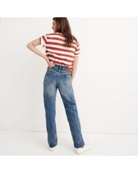 Madewell Blue Chimala® Vintage High-rise Jeans