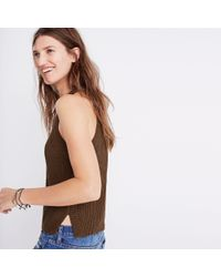 Madewell Green Valley Sweater-tank