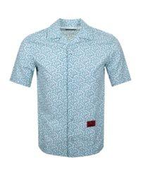 DIESEL Short Sleeved S Nogales Shirt White for men