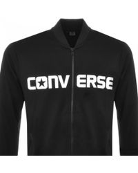 Converse All Star Hybrid Bomber Sweatshirt Black for men