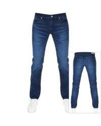 HUGO 708 Slim Fit Jeans Blue for men