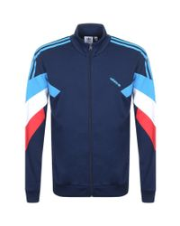 Adidas Blue Originals Palmeston Track Top Navy for men
