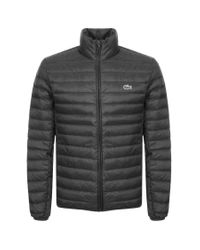 Lacoste Full Zip Padded Jacket Black for men