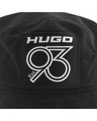 HUGO Black Men X 555 Bucket Hat for men