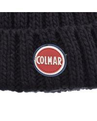 Colmar - Blue Beanie Hat Navy for Men - Lyst