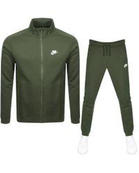 Nike Green Basic Tracksuit for men
