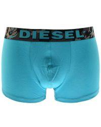 DIESEL - Underwear Shawn 3 Pack Boxer Shorts Blue for Men - Lyst