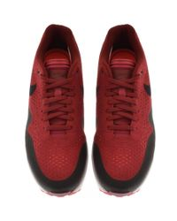 Nike - Air Max 1 Ultra 2.0 Essential Trainers Red for Men - Lyst