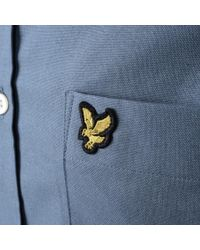 Lyle & Scott - Lyle And Scott Oxford Shirt Blue for Men - Lyst