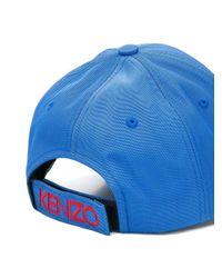 KENZO Blue Tiger Canvas Cap
