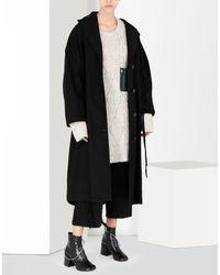 MM6 by Maison Martin Margiela Natural Oversized Knitwear Jumper