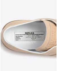 "Maison Margiela - Multicolor Calfskin ""replica"" Sneakers - Lyst"