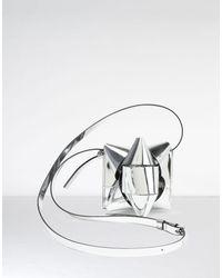 MM6 by Maison Martin Margiela - Metallic Ribbon Bow Coin Purse - Lyst