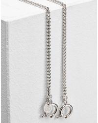 MM6 by Maison Martin Margiela - Metallic Vintage Look Brass Chain Necklace - Lyst