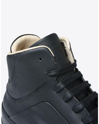 Maison Margiela Black Mid-top Fs 540 Sneakers for men